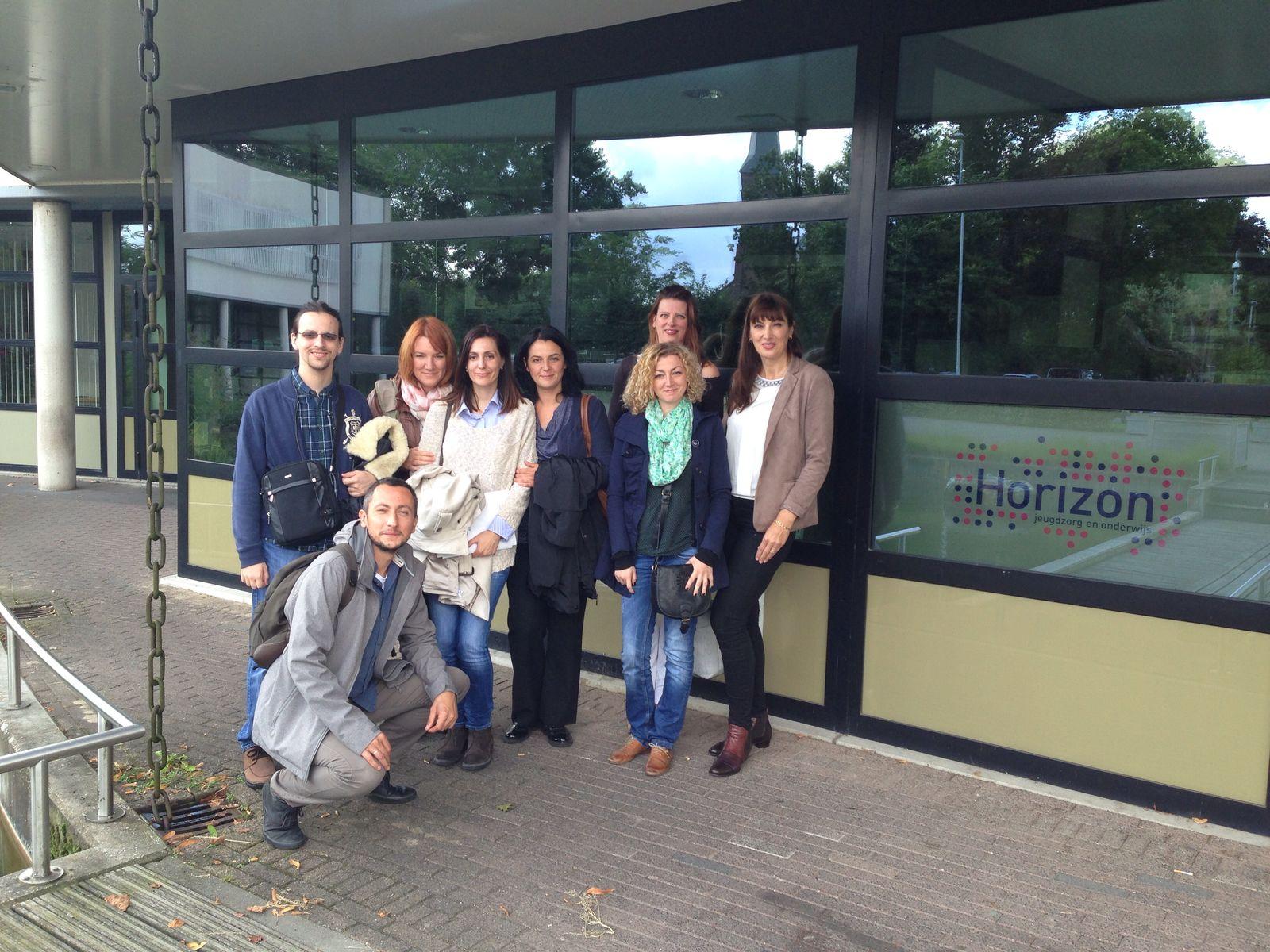 Servische delegatie bezoekt Nederland